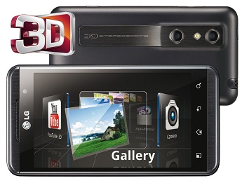 LG Optimus 3D phone soon to be Reality