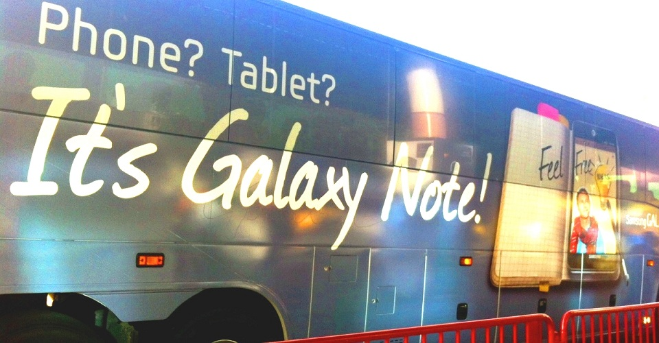 Samsung Galaxy Note available for pre-order from Best Buy and AT&T