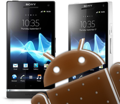 Ice Cream Sandwich Kernel Source released for Sony Xperia S