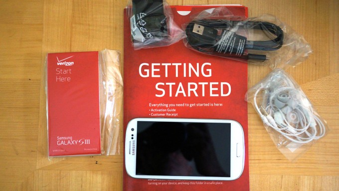 Pre-Ordered Verizon Samsung Galaxy S3's arriving today