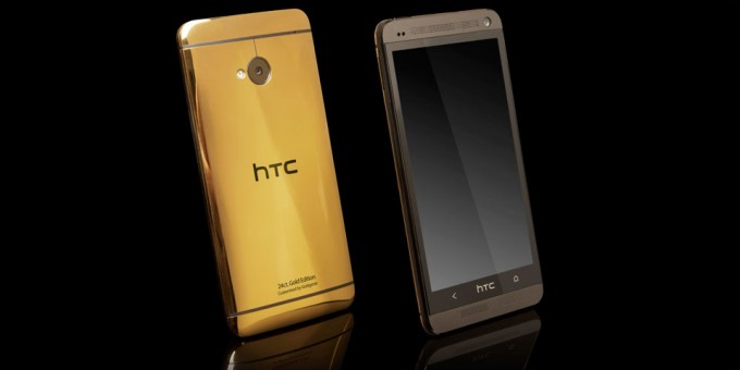 Gold-Plated HTC One