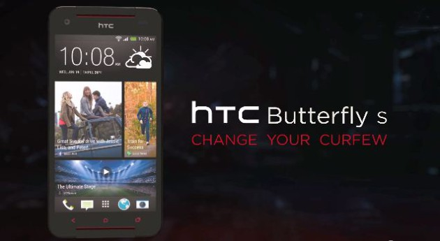 HTC Butterfly S made Official: Specs List