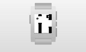 Flappy Bird on your Pebble Smartwatch