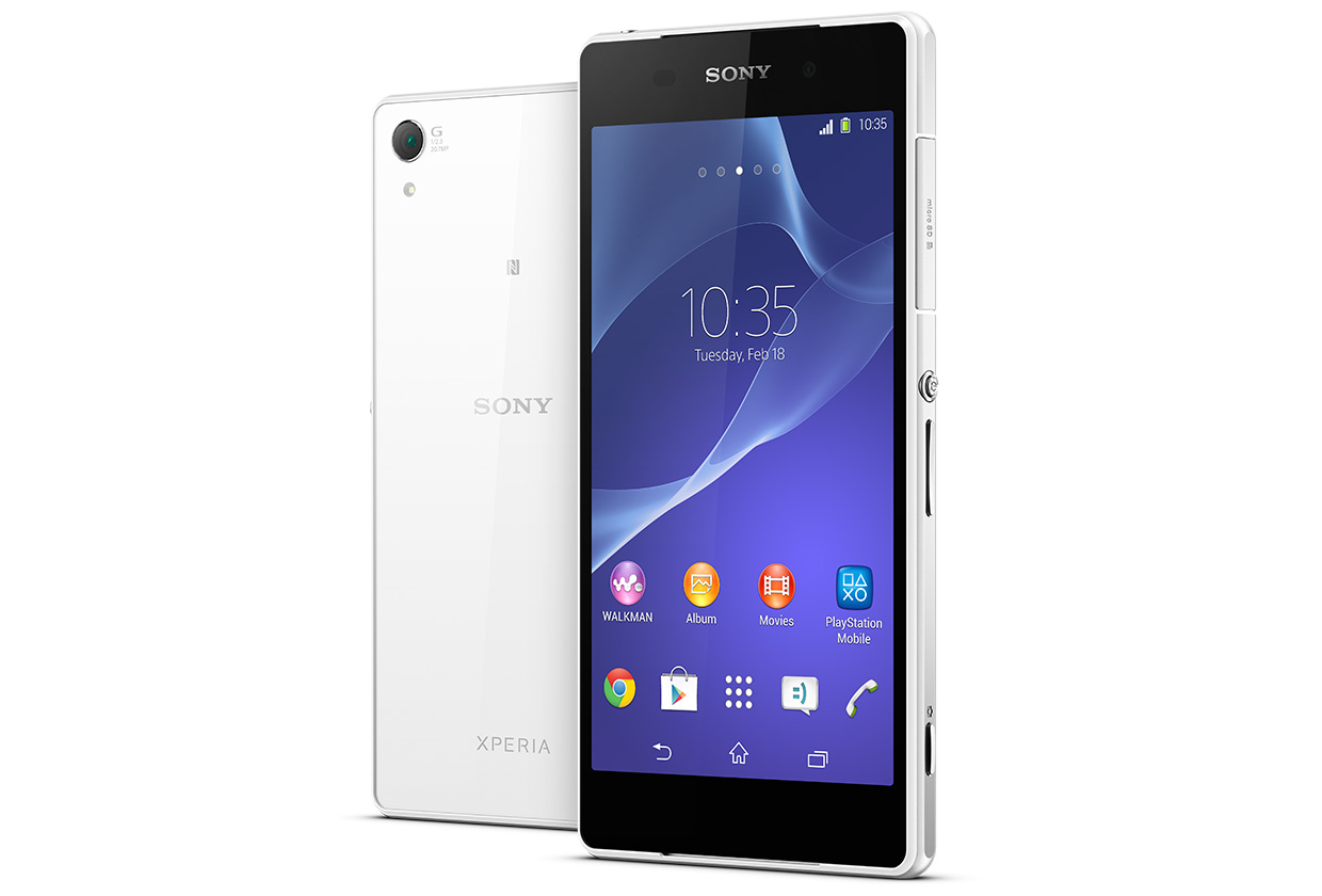 Taking a look at the Waterproof Sony Xperia Z2