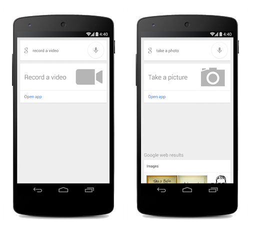 You Can Now Quickly Access your Camera and Video Camera Through Google Search