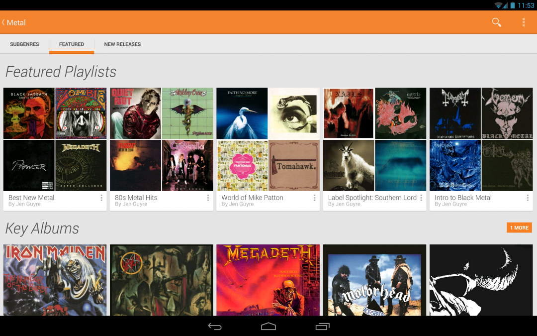Small Update to Google Play Music Rolling Out
