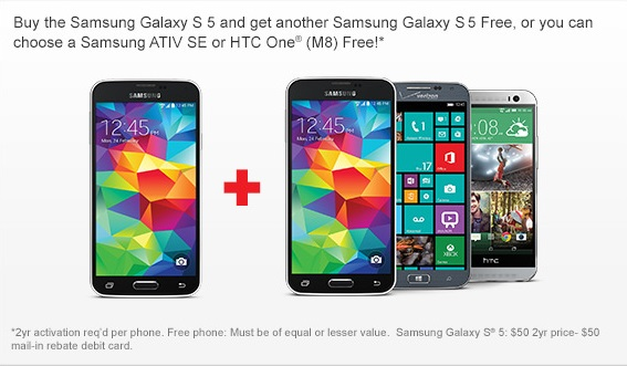 GS5 Verizon Promo