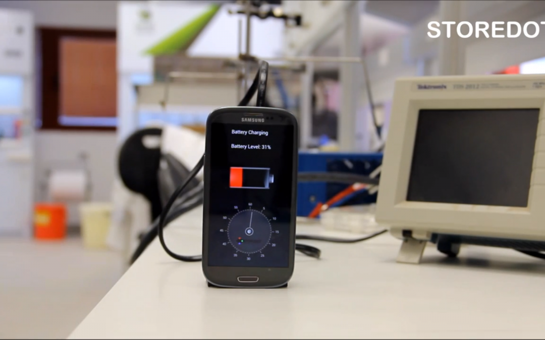 StoreDot has Nanochrystals That Will Charge Your Phone in 30 Seconds